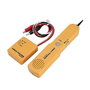 Fosa portátil RJ11 Red Cable Tester Detector de tono de alambre de tóner Tracker buscador de línea Cable de herramienta: Amazon.es: Amazon.es