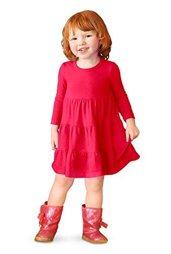 little girl apple dress - 8