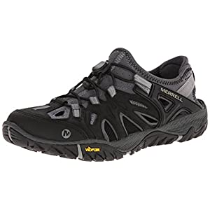 Merrell Men's All Out Blaze Sieve Water Shoe, Black/Wild Dove, 10.5 M US