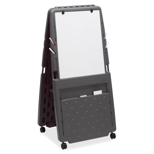 Iceberg Mobile Presentation Flipchart Easel with Dry-erase Surface - 33quot; Width x 73quot; Height - Dry Erase Surface - Frame - Film - 1 Each (Flip Chart Calendar)
