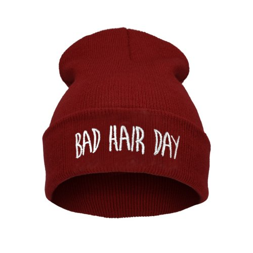 D Hair Hat Men Beanie Warm Bad 4sold Winter Black 6F7qnvxw