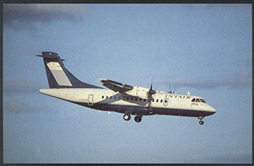 - Intair Canada Aerospatiale Aeritalia ATR 42-300 Turboprop Aircraft Postcard