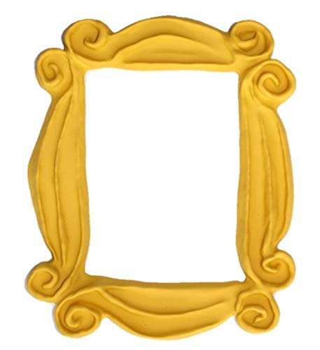 Handmade with Love by Fatima. As seen in Monica's Door. It has Two Side Tape in the back. Handmade. Yellow Frame
