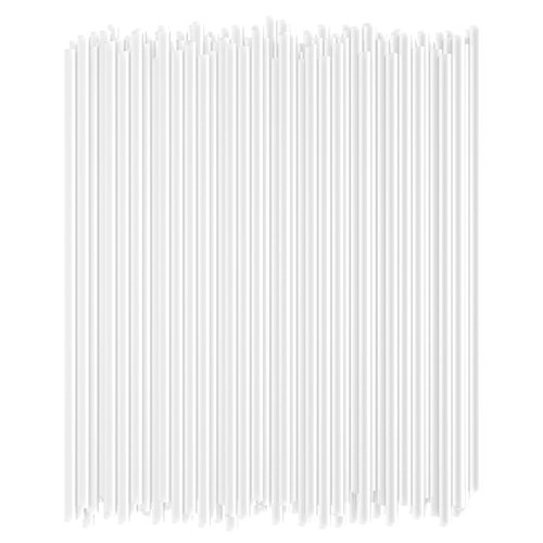 (Disposable Drinking Straws - 7 3/4 Inches Long - Standard Size (Clear, 250))