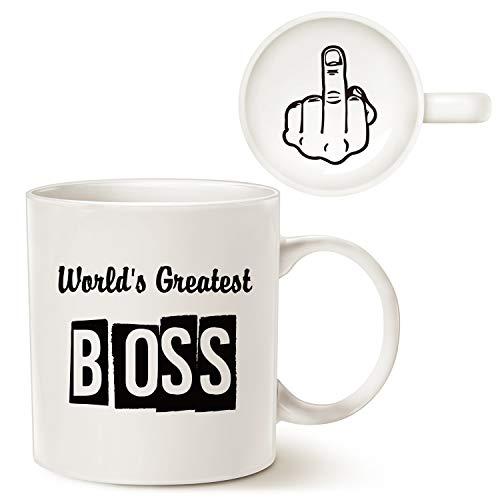 """World's Greatest Boss"" (with a twist) Mug"
