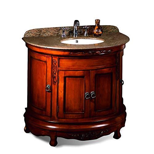 - Ove Decors Victoria Bathroom 36-inch Granite Single Vanity