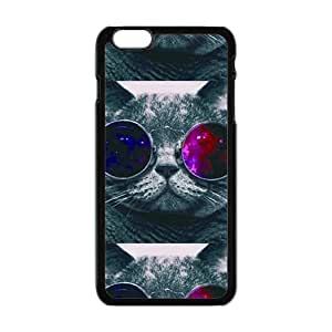 Colorful glasses cat Cell Phone Case for iPhone plus 6