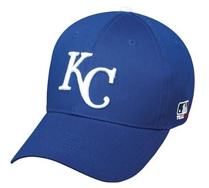 b0dbc33f Kansas City Royals ADULT Adjustable Hat MLB Officially Licensed Major  League Baseball Replica Ball Cap