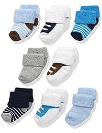 Baby 8 Pack Newborn Socks,