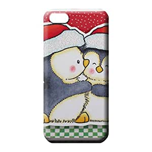 iphone 5c cell phone skins Premium Shock-dirt Awesome Phone Cases christmas penguins