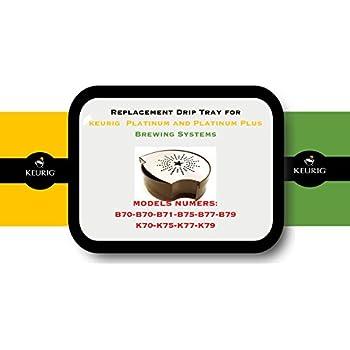 Amazon Com Replacement Drip Tray For Keurig B70 B71 B75