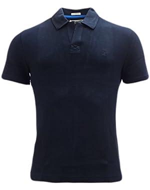 Plain Navy Polo Shirt Dark Sapphire