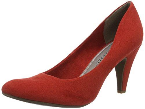 Marco Tozzi 22428, Zapatos de Tacón para Mujer Rojo (Red 500)