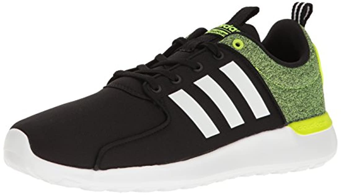 Faible Prix Achat HommeFemme Adidas Neo Lite Racer Pomme VerteArgent Chaussures Soldes f76396
