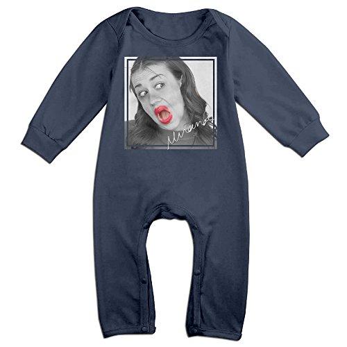 HOHOE Newborn Beautiful Singer Long Sleeve Bodysuit Baby Onesie 24 (Ariana Grande Space Costume)