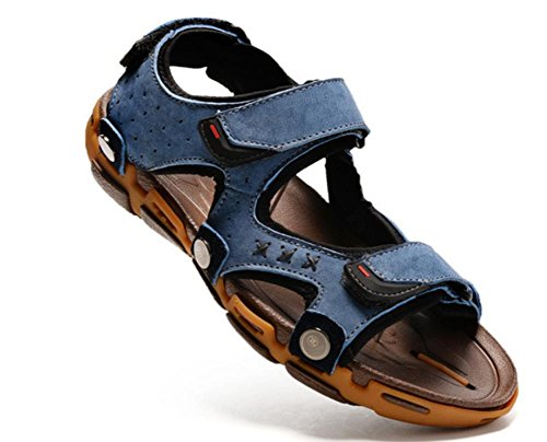 2017 new male leather sandals summer Baotou leisure male sandals outdoor beach shoes 1 B8zoLX