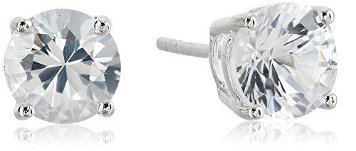 7mm May Birthstone Earrings - 6
