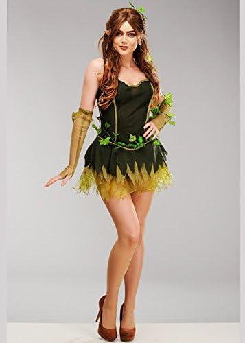 Magic Box Disfraz de Duende del Bosque Verde para Mujer Small (UK ...