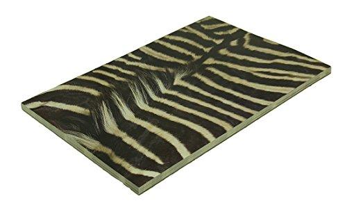 Zeckos 24 Piece Animal Print Tear Off Disposable Heavy Duty Paper Placemat - Animal Party Placemat