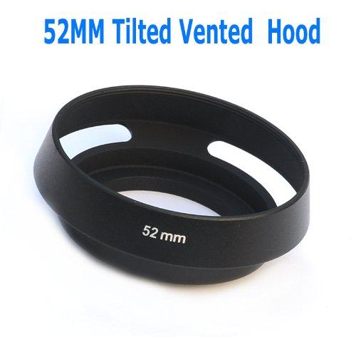 - EzFoto 52mm Tilted Vented Metal Lens Hood Shade for Leica, Contax Zeiss, Voigtlander Lens