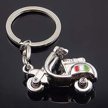 Llaveros 3D de motocicleta llavero para Vespa Piaggio 125 ...