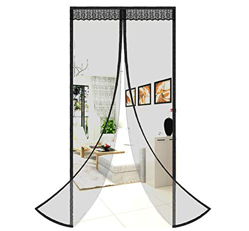 Magnetic Screen Door Easy Install Screen Door Magnetic Door Screen Pet Friendly Sliding Door Screen Door Mesh Door Screen Door Net for Doors Screen for door