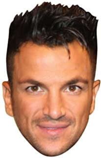 Peter andre celebrity face mask amazon kitchen home peter andre celebrity mask cardboard face and fancy dress mask bookmarktalkfo Image collections
