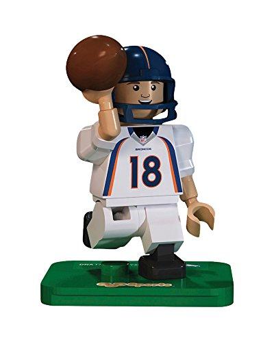 OYO NFL GEN3 Denver Broncos Peyton Manning Limited Edition Minifigures, Blue, Small Denver Broncos Nfl Tackle