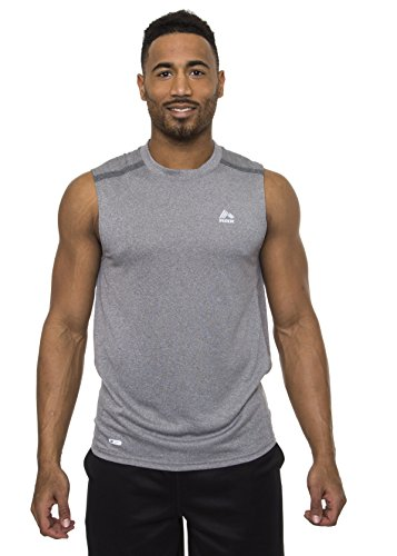 RBX Active Men's Lightweight Quick Dry Muscle Tank Top