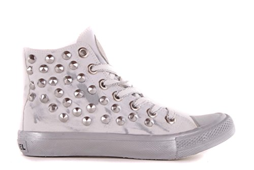 Diesel baskets femme boots high#42 chaussures blanc vieilli