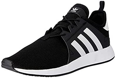adidas, X_PLR Trainers, Men's Shoes, Black/White/Black, 8.5 US