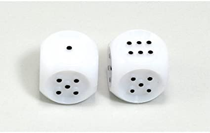 Kop03999 Tactile Dice 2 Each