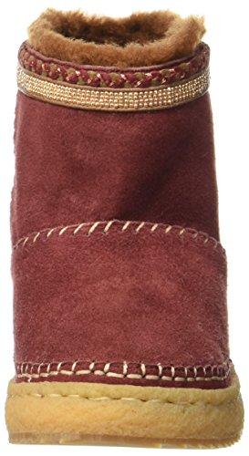 London Rilassato Damen Nyali Stiefel Rot (rame Bordeaux)