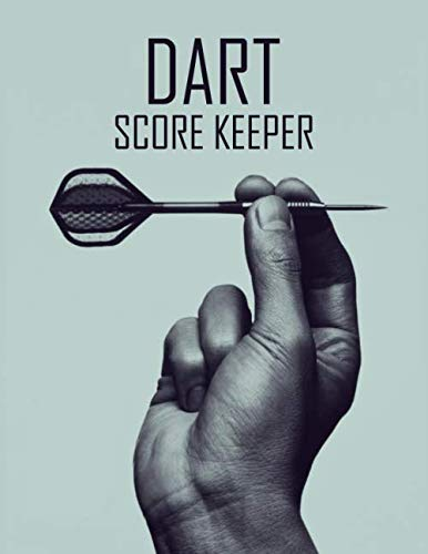 Gray Darts - Dart Score Keeper: 100 Darts Score Sheets, Darts Game, Dart Score Pad