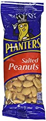Planters Salted Peanuts, 1.75 Oz. Pack, Pack Of 12