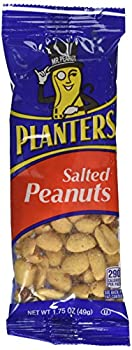Planters Salted Peanuts, 1.75 Oz. Pack, Pack Of 12 0