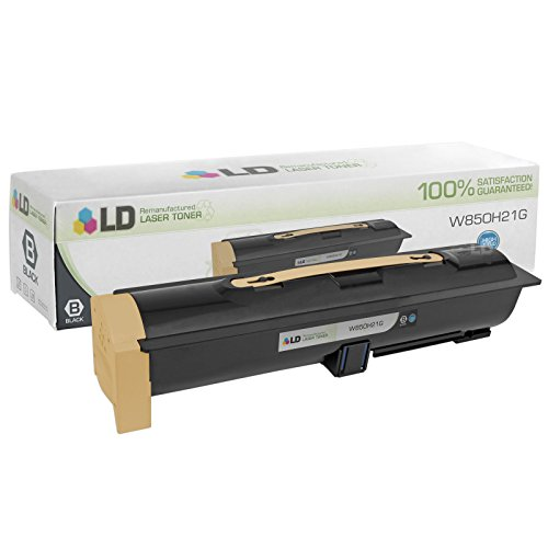 LD Remanufactured Replacement for Lexmark W850H21G High Yield Black Laser Toner Cartridge for use in Lexmark W850dn, and W850n Printers (Laser W850dn Printer)