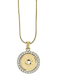 (Simulated) Gold Bling Necklace SN95-70 (Standard Size) Interchangeable Jewelry Accessory
