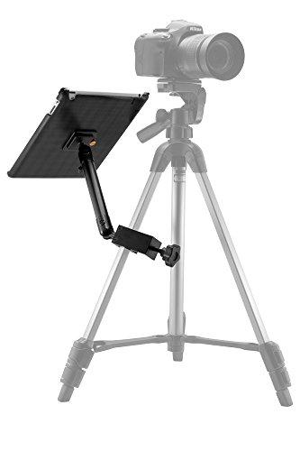 Arkon Custom Fit Apple iPad 4 3 2 Heavy Duty 10 inch C Clamp Tripod Table Desk or Cart Mount by ARKON (Image #1)