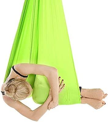 YUHUANG Hamaca de Yoga, Kit de Columpio de Yoga aéreo para ...