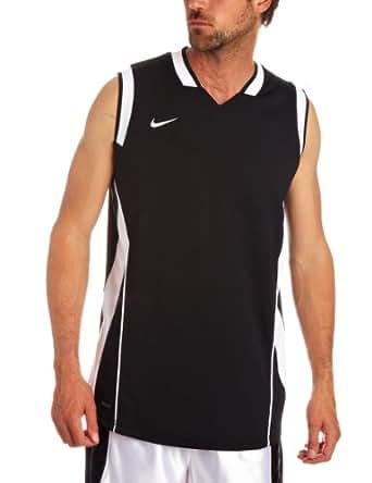 Nike Men's SLAM I I TANK Basketball Dri-Fit Sleeveless T-Shirt 3XL Black-white
