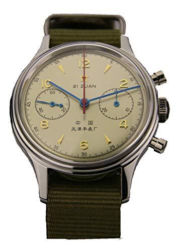 22495d1020d0 Sea gull Chronograph Man Wristwatch Pilot Officail Re Issue 304 St19 1963  Flieger