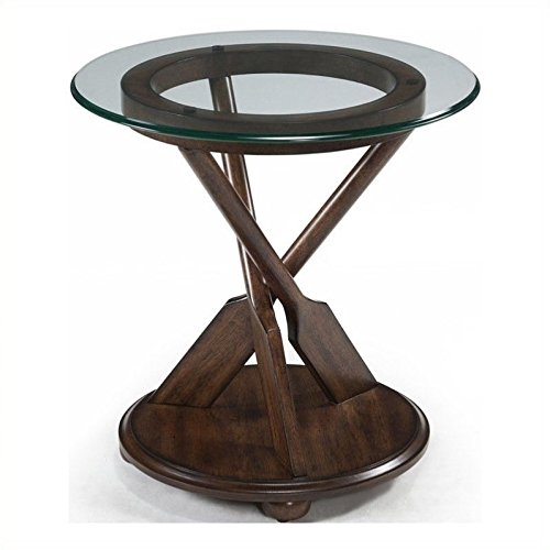 Magnussen Beaufort End Table in Dark Oak ()