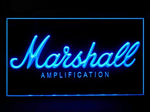 Marshall Led Sign - Marshall Bass Amplifier Display Led Light Sign