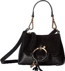 See By Chloe Women S Joan Mini Shoulder Bag Black One Size