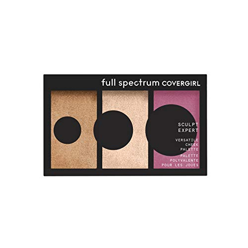 Covergirl Sculpt Expert Multiuse Cheek Palette, Rose Rush, 0.22 Ounce