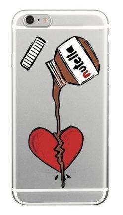 Coque Silicone Souple Iphone 7 Remède Coeur Brisé (Livraison