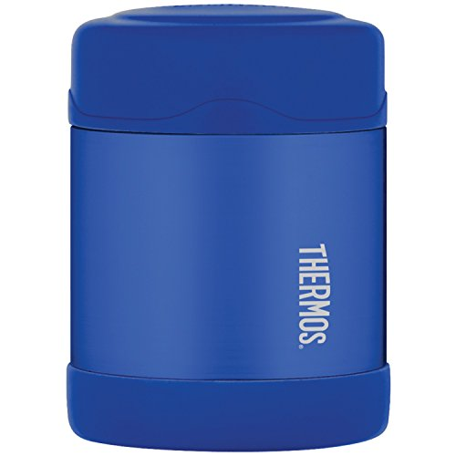 (Thermos Funtainer 10 Ounce Food Jar, Blue)