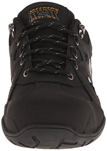 Skechers For Work Homme 77035 Joster Chaussure De Marche Noir