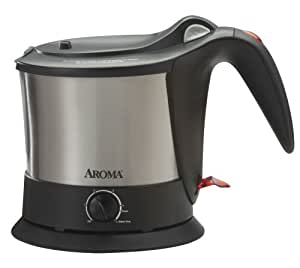 Aroma Housewares AWK-160SB Pasta Plus Water Kettle and Noodle Cooker
